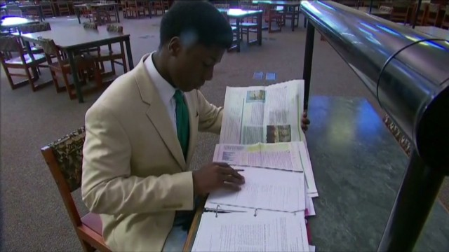 Student accepted to all 8 Ivy Leagues