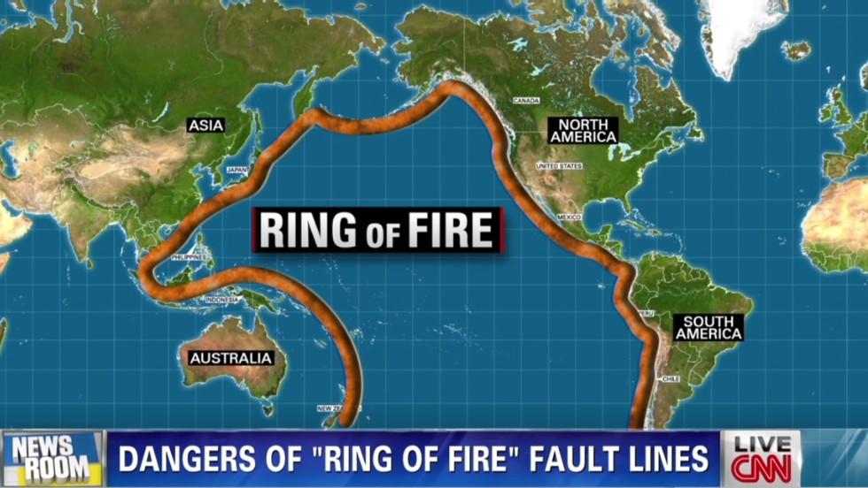 'Ring of fire' threatens a massive quake - CNN Video
