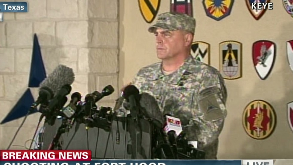4 dead, including shooter, at Fort Hood