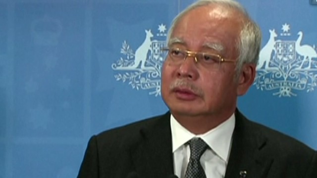 Malaysian PM: We will not give up