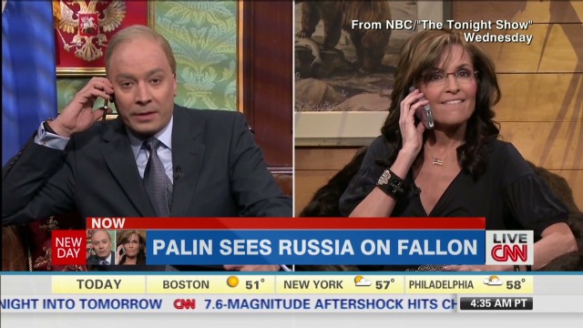 Inside Politics: Palin v. Putin