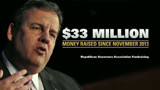 Inside Politics: Christie Raises $33 mil.