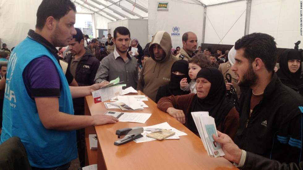 Number of Syrian refugees in Lebanon passes 1 million, U.N. says