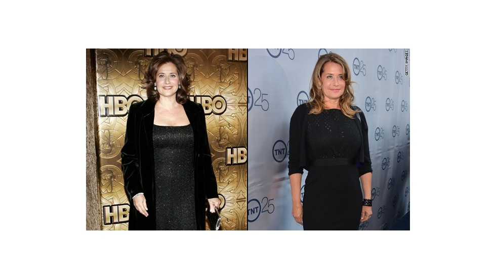 "Lorraine Bracco of ""The Sopranos"" has lost 35 pounds since the HBO drama's end in 2007. She said it was the death of her parents three years ago that inspired her to make a change. Before their death, she remembers ""sitting there, dividing these medications, who gets what when,"" <a href=""http://abcnews.go.com/Entertainment/caring-parents-inspired-lorraine-bracco-lose-35-pounds/story?id=23144865"" target=""_blank"">she told ABC News</a>. ""It was insane. I watched and realized, 'I don't want to go like that.' ... I want to live every day the best I can be."""