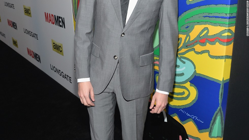 """Mad Men's"" Vincent Kartheiser shows off an interesting haircut at the series' seventh season premiere."
