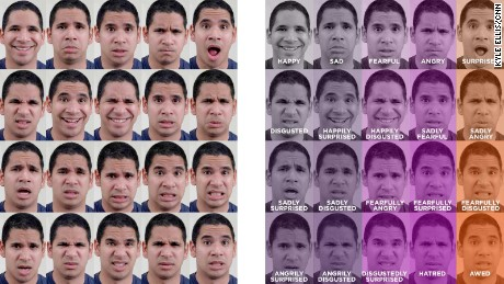 Happily disgusted? 15 new emotions ID'd