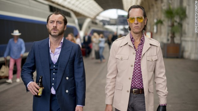 "Jude Law stars as Dom Hemingway and Richard E. Grant stars as Dickie in the film ""Dom Hemingway."""