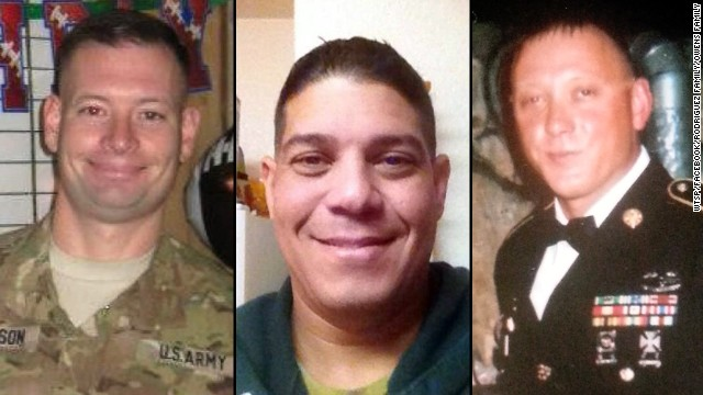 Sgt. Danny Ferguson, Sgt. Carlos A. Lazaney and Sgt. Timothy Owens were killed during the shooting at Ft. Hood.