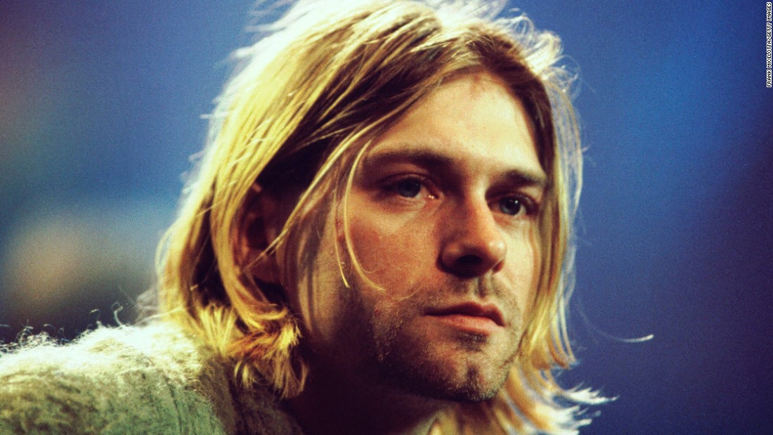 "Kurt Cobain, lead singer of the influential rock band Nirvana, committed suicide at his home in Seattle on April 5, 1994. An authorized documentary about his life, ""Kurt Cobain: Montage of Heck,"" aired on HBO in early 2015 to fan raves and critical acclaim. Click through to see photos from his career."
