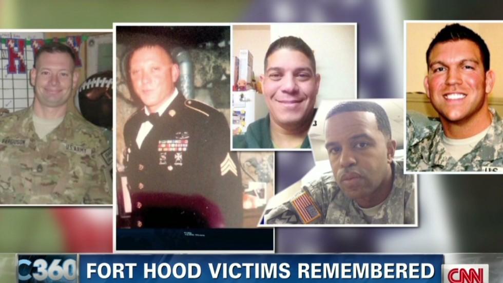 Three soldiers slain at Fort Hood identified