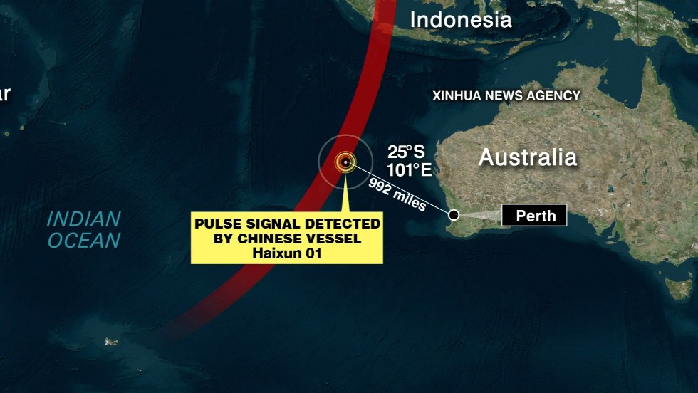 Chinese ship detects possible 'pulse' - CNN Video
