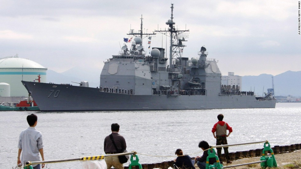 U.S. to send 2 more missile defense ships to Japan to protect from North Korea