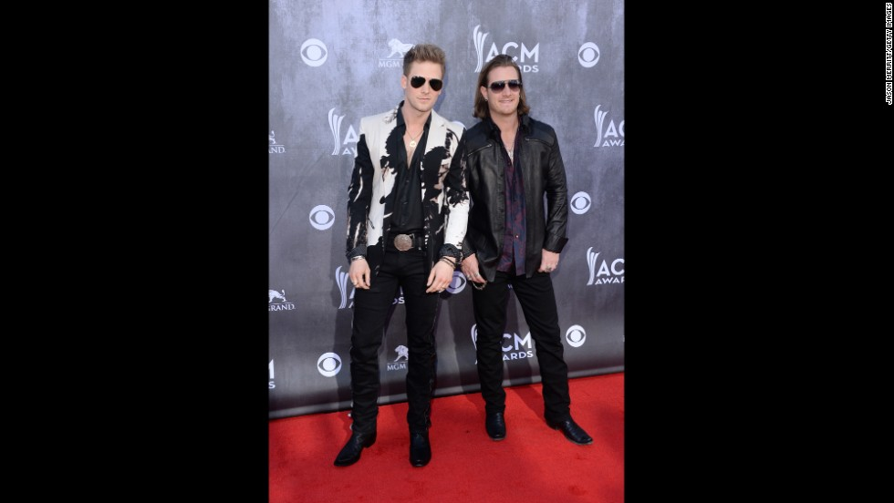Brian Kelley and Tyler Hubbard of the duo Florida Georgia Line