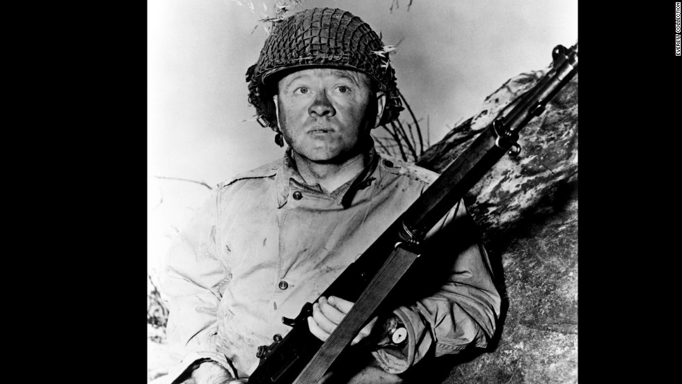 "Rooney earned an Oscar nomination for his role in the World War II film ""The Bold and the Brave"" in 1956."