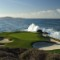 Golf Bucket List - Pebble Beach par three 7th green - credit Joann Dost