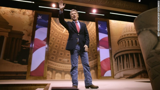Sen. Rand Paul, R-Kentucky, is aggressively trying to expand the Republican Party.
