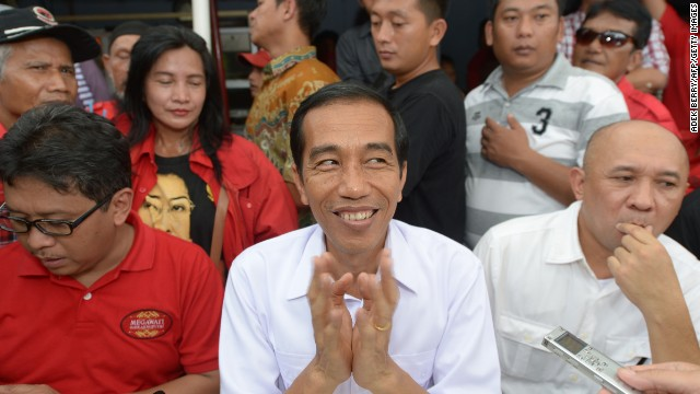 Jakarta Governor Joko Widodo, seeks to become president of the world's biggest Muslim-majority nation.
