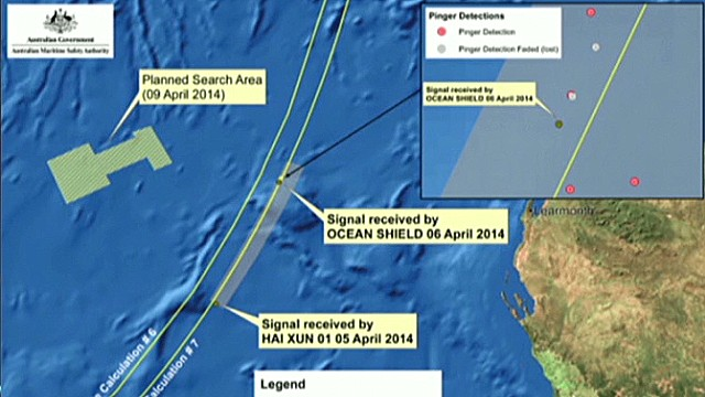 New pings in the Flight 370 search zone