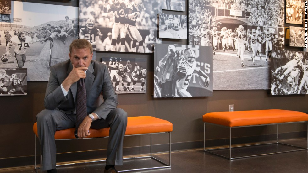 "In the new movie ""Draft Day,"" Kevin Costner stars as an NFL general manager with a lot on his mind. Click through to see some other football-related movies through the years."