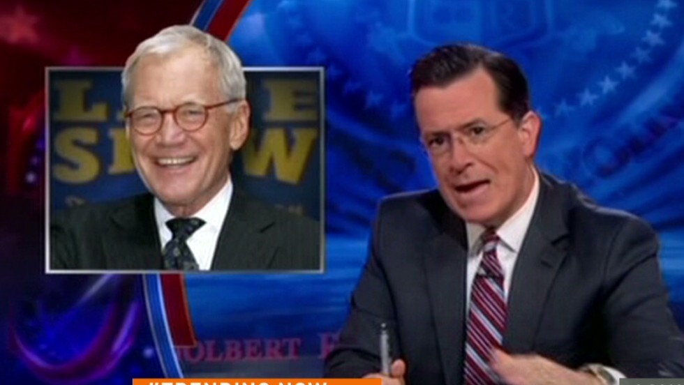 See Colbert's tribute to Letterman  - CNN Video