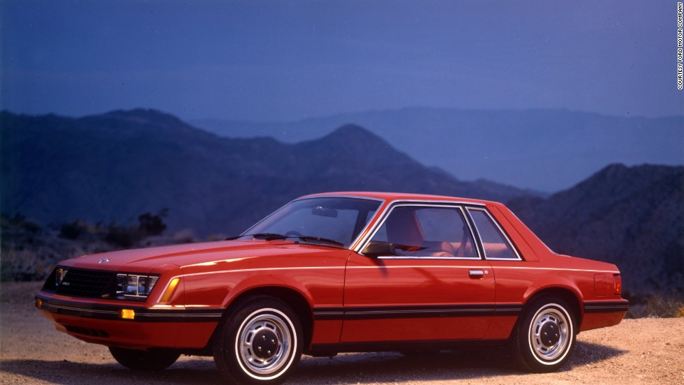 <strong>1980 Ford Mustang LX coupe.</strong> The year 1980 saw the 302-cubic-inch V-8 engine dropped as an option. It was replaced by an economy-minded 119-horsepower 255-cubic-inch V-8.