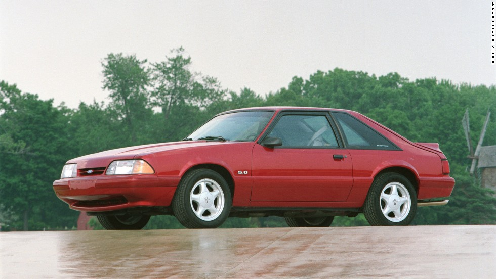 <strong>1992 Ford Mustang 5.0. </strong>The lightweight 5-liter LX outsold all other models combined in 1992.