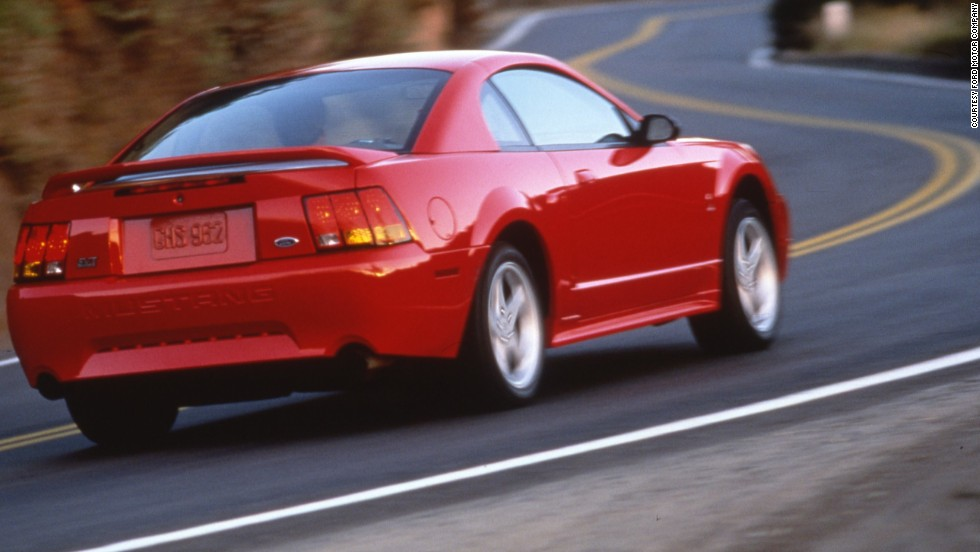 <strong>1999 Ford SVT Mustang Cobra. </strong>The SVT Mustang Cobra was the first Mustang with a fully independent rear suspension.