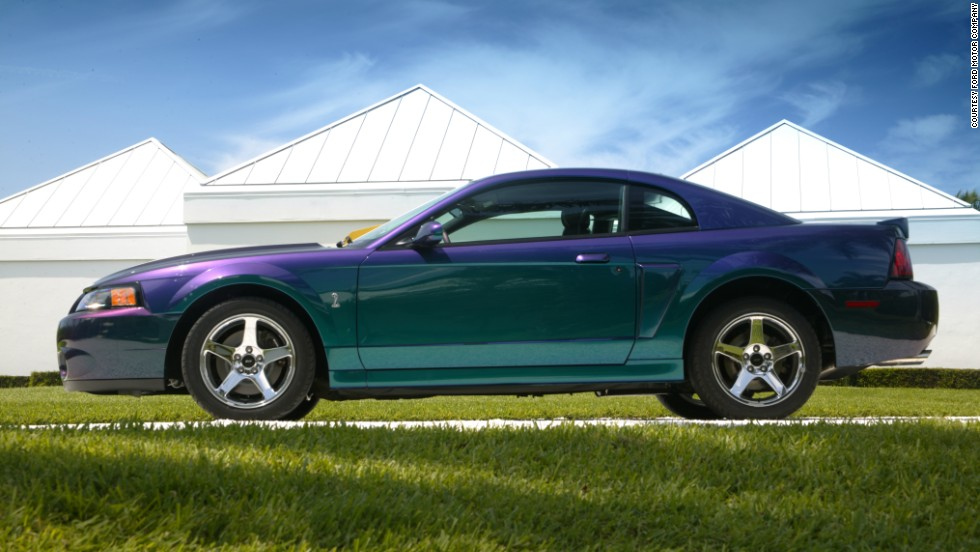 <strong>2004 Ford SVT Mustang Cobra. </strong>The 2004 models were the last to be manufactured in Ford's Dearborn Assembly Plant, which had produced every model year Mustang since its inception.