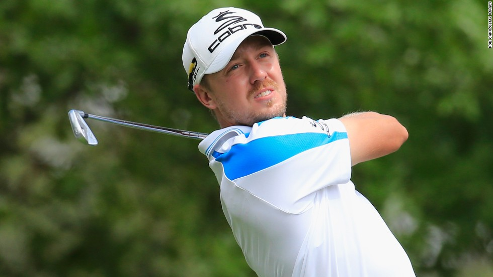 Sweden's Jonas Blixt maintained his challenge throughout the final day and finished as the leading European player.