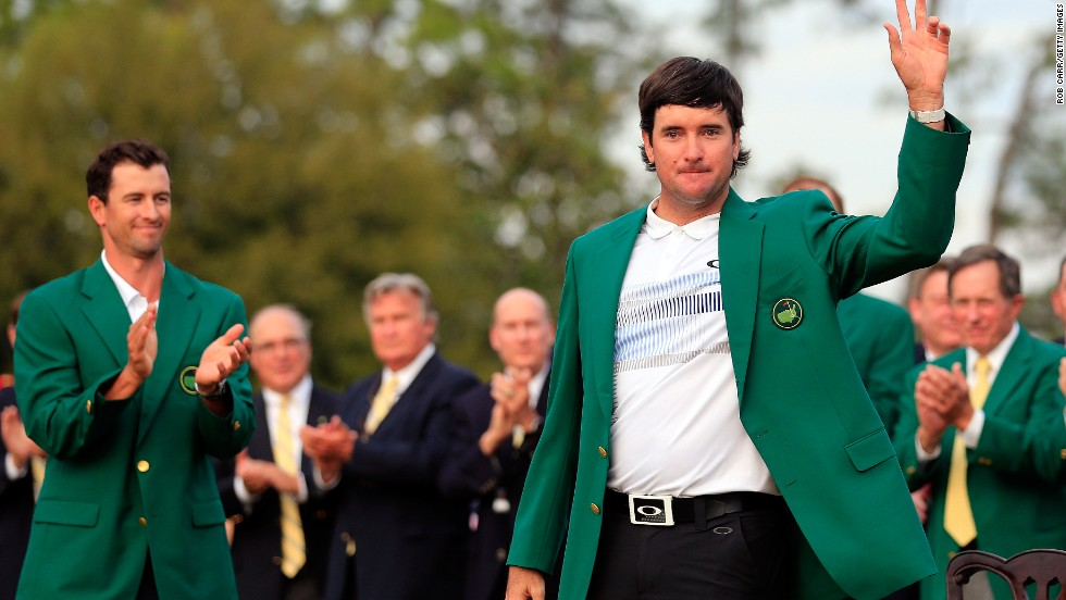 Bubba Watson dons Green Jacket for second time - CNN