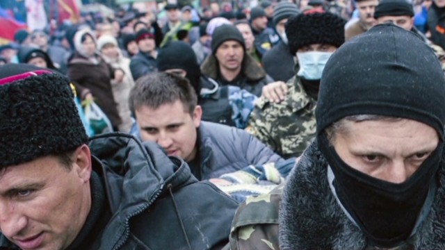 Russia: Ukraine heading for civil war