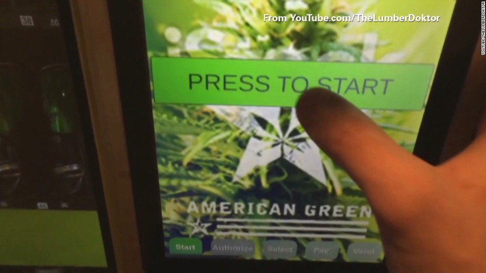 Want pot? Head to the vending machine - CNN Video