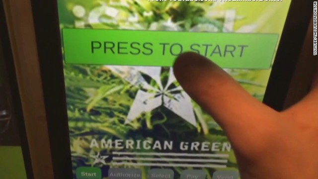 Want pot? Head to the vending machine