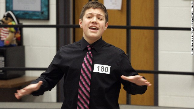 "The superintendent of schools said he found Reat Griffin Underwood to be ""an engaging and exceptional young man."""
