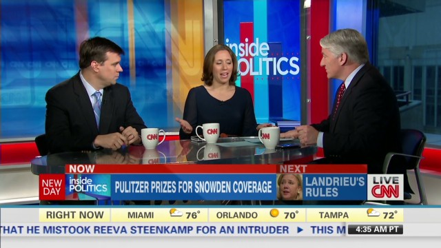 Inside Politics: Pulitzers for NSA leaks
