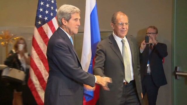 A look at the Kerry Lavrov relationship