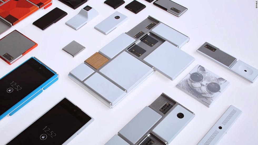 Google's future phone: The modular Project Ara