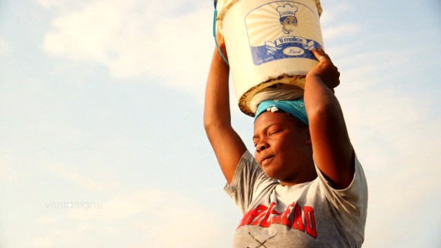 Haiti's clean water crisis