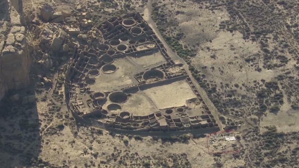 Drone finds 1,000-year-old village - CNN Video