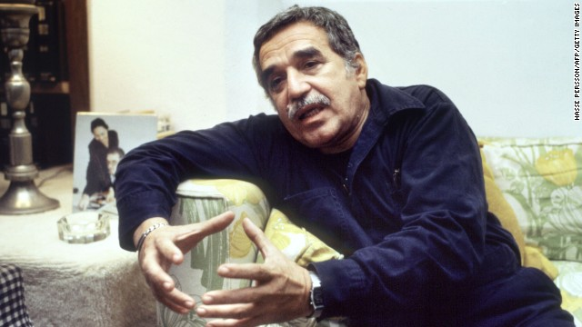 Colombian writer Gabriel Garcia Marquez won the Nobel Prize for Literature in 1982.