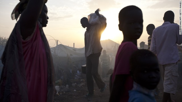 Oscar winner discusses South Sudan