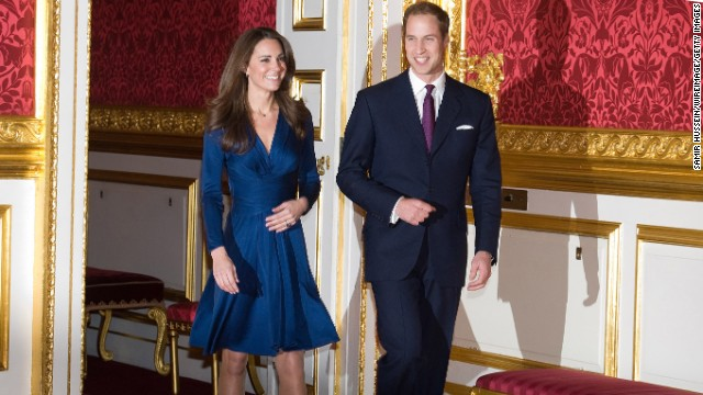 Prince William and Kate Middleton announced their engagement in November 2010.