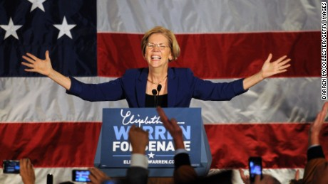 Elizabeth Warren's dream presidential candidate