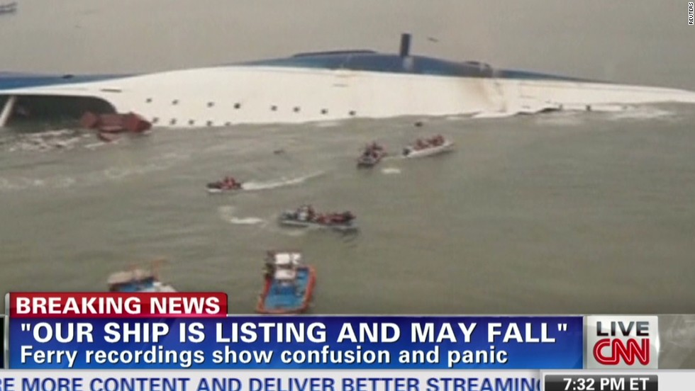 Diver on sunken South Korean ferry: 'We can't even face the families'