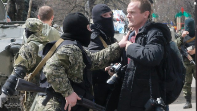 Media in Ukraine is 'under siege'