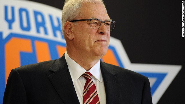 Legendary NBA coach Phil Jackson has made his first major move since taking over as Knicks president in March.