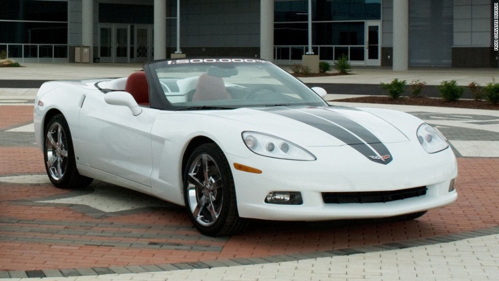 "This is the 1,500,000th Corvette ever built. It came off the assembly line in Bowling Green on May 28, 2009,<a href=""http://www.gm.com/article.content_pages_news_us_en_fastlane_2014_mar_0304-corvette.html"" target=""_blank""> according to GM</a>. ""While the weakening economy was clearly on everyone's mind, there was still an excitement in the air..."""