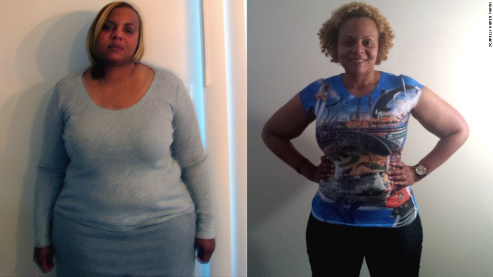 At Her Heaviest Fit Nation Partint Karen Manns Weighed 268 Pounds Today She