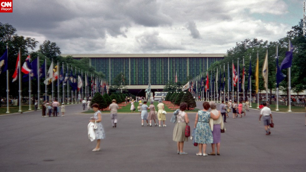 """People dressed up when they went to the world's fair,"" remembers Ondrovic."