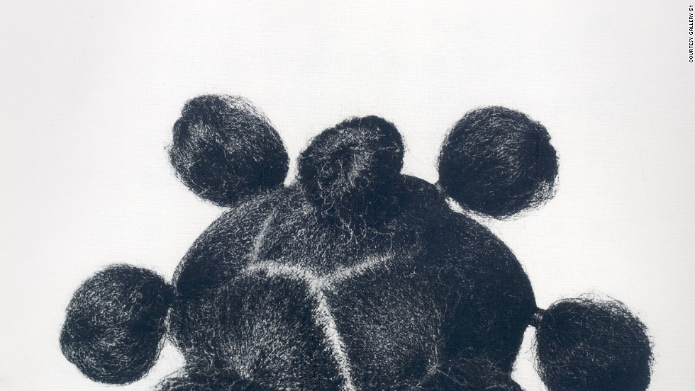Mkpuk Eba, 1974. Ojeikere began working on his Hairstyle series in the late 1960s after he joined the Nigerian Arts Council and began documenting the country's culture.